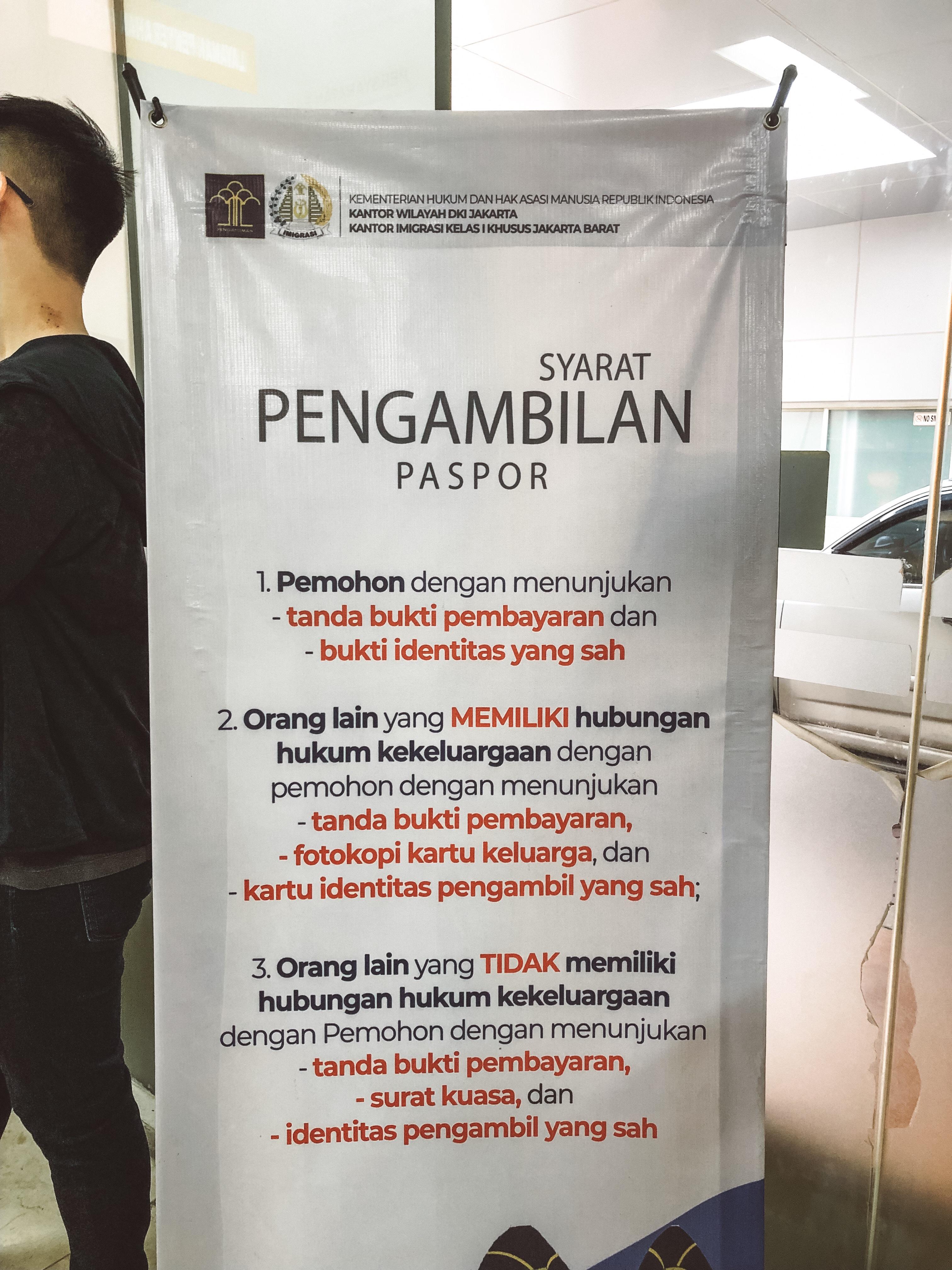 Perpanjang Paspor Online 2019 Jenita Darmento